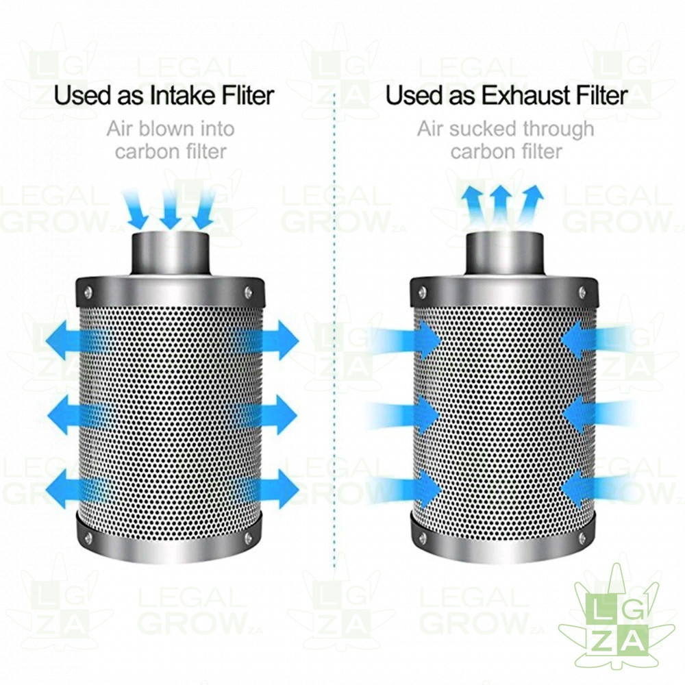Carbon Filter 4 Inch - 8 Inch (100mm - 200mm) Intense Odour-Control 4 HALLOWEED BUNDLES CarbonFilter7