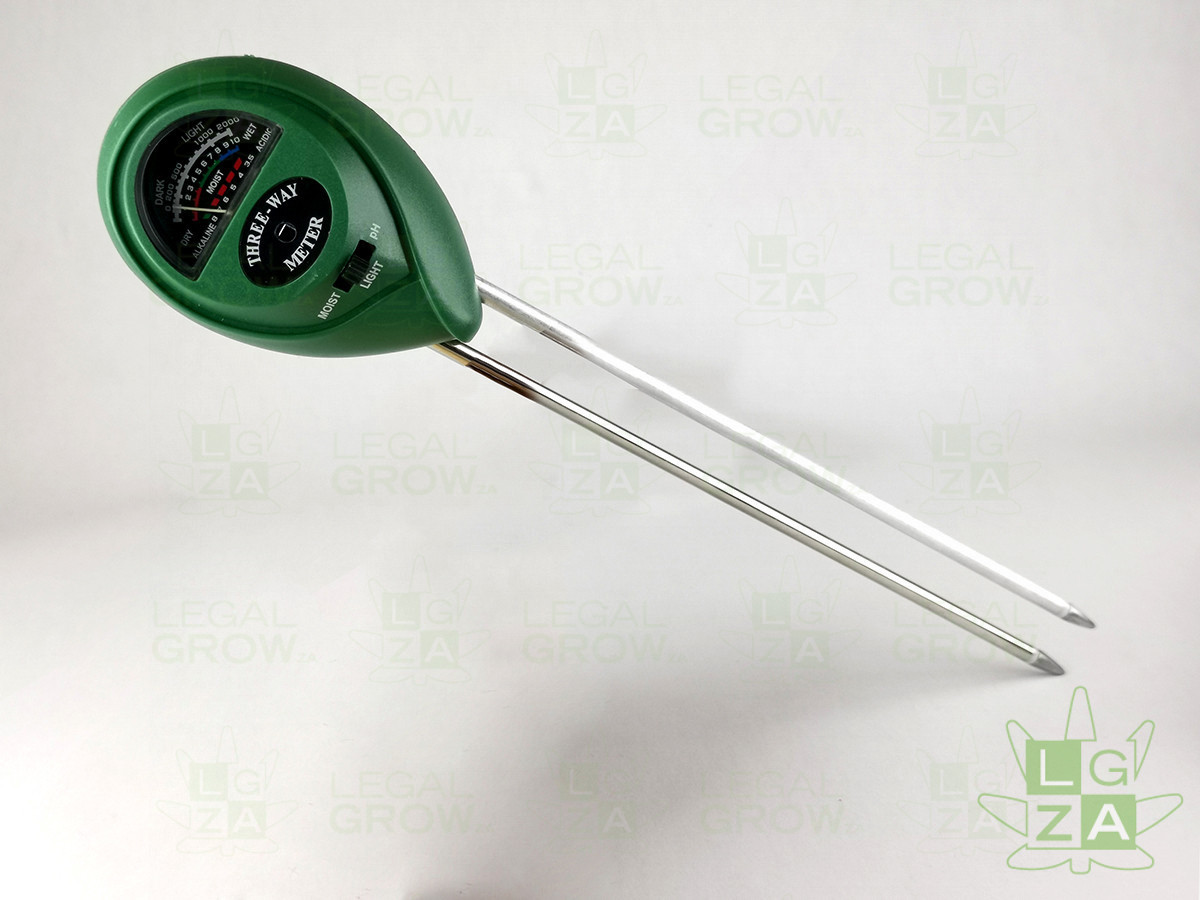 3-Way Soil Tester Meter-legalgrow.co.za